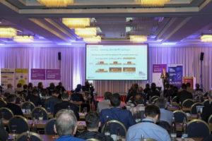 Ayad presenting 3DiS at 3D summit